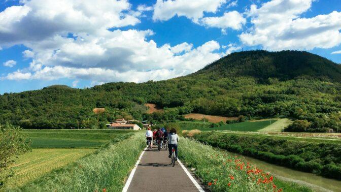 In bici: Colli Euganei e Fiume Sile