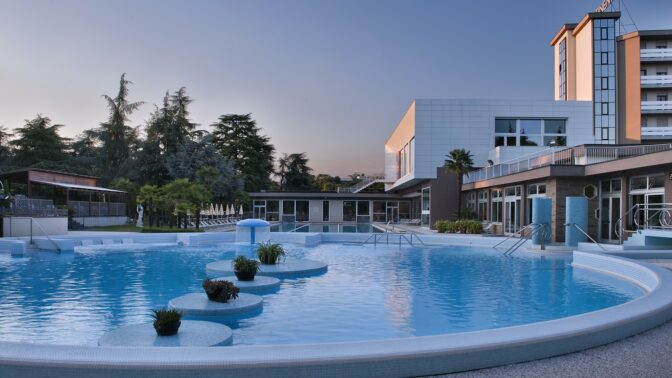 Hotel Continental Terme a Montegrotto